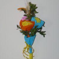Palma Rity wykonana na zajęciach plastycznych.